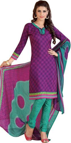 Mind-Blowing Siya Branded Crepe N Chiffon Printed Salwar Suit