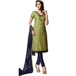 Exquisite Glory Santoon Silk Salwar Suit