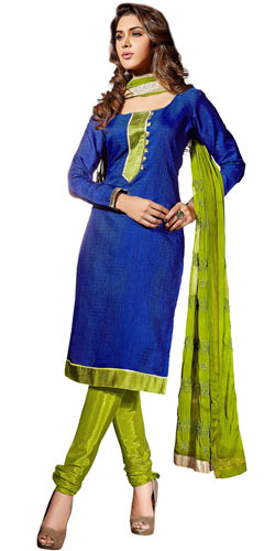 Exquisite Banarasi Santoon Silk Salwar Suit