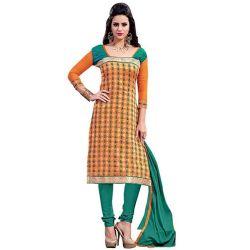 Comely Grace Chanderi Salwar Suit