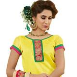 Chromatic Display Chanderi Dress Material