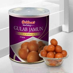 Gulab Jamun 1 Kg. from Haldiram / Reputed Sweets Shop