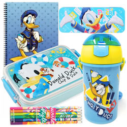 Lovely Donald Duck Stationary Combo for Lovely Kids