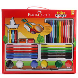 Fancy Faber Castell Art Cart for Kids
