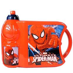 Pretty Lunch Time Spider Man Designed Tiffin Set