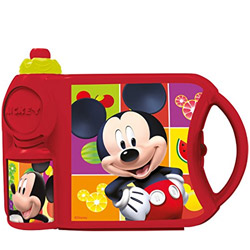 Beautiful Mickey Pattern Combo Tiffin Set for Lovely Kids