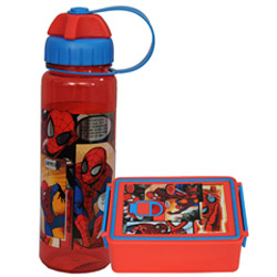 Classic Lunch Time Spider Man Designed Tiffin Set