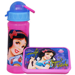 Magnificent Disney Snow White Pattern Tiffin Set for Lovely Kids