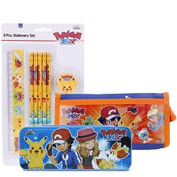 Cool School Time Pokemon Designed Stationery Set