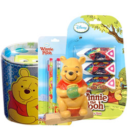 Remarkable Winnie The Pooh Pattern Stationery Set for Lovely Kids