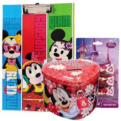 Charming Kids Special Disney Minnie Designed Stationery Set
