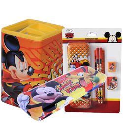 Stylish Off to Disney Mickey Stationary Set