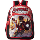 Wonderful Iron Man Black N Red School Bag