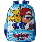 Impressive Pokemon Pattern Blue Color School Bag for Lovely Kids