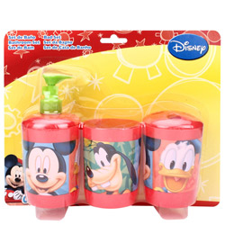 Pretty Mickey Pattern Bathroom Set for Kids