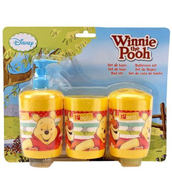 Outstanding Bathroom Set with Winnie The Pooh Design