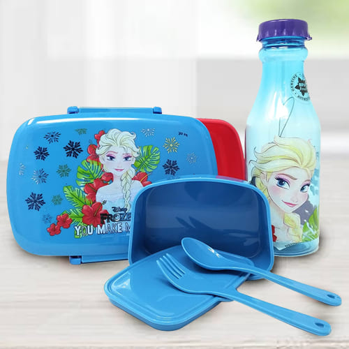 Remarkable Disney Frozen Lunch Box n Water Bottle Set