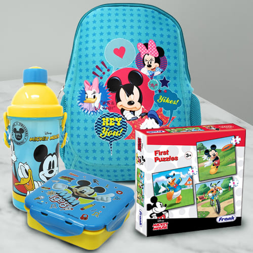 Wonderful Disney Mickey Mouse Fun Hamper for Kids