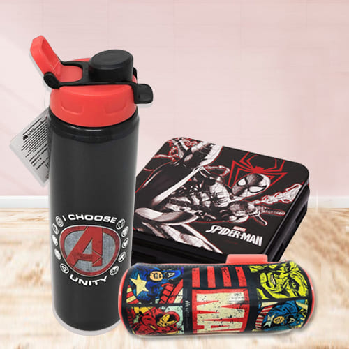Alluring Marvel Avengers Gift Combo for Kids