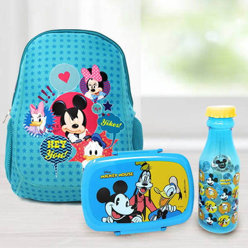 Striking Back To School Mickey Mouse Gift Combo