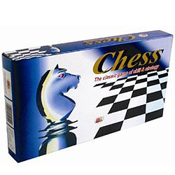 Deluxe Plastic Chess Board Game