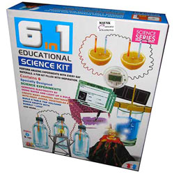 Fascinating 6-in-1 Educational Science Kit