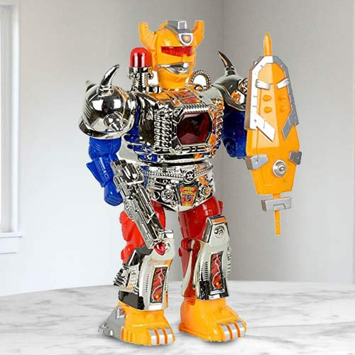Online Battery Operated Walking Robot