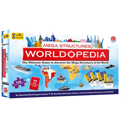 Toughtful Madzzle Worldopedia Megastructures from MadRat Games