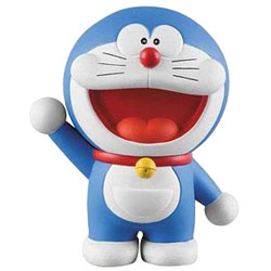 Splendid Gift of Doraemon Action Figure for Young Ones