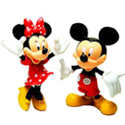 Glamorous Selection of Mickey Mouse N Minnie Mouse Action Figures for Children