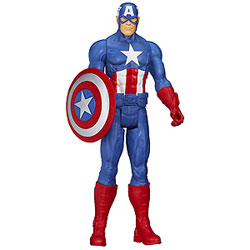 Fancy Gift of Marvel Avengers Captain America Action Figurine for Young Ones