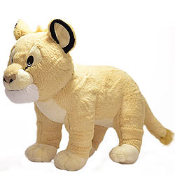Visually Stunning Lion Cub Soft Toy