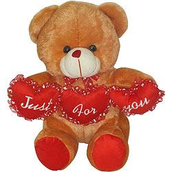 Adorable Tri Heart Bear