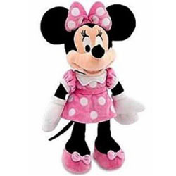 Enticing Disney Minnie Mouse Soft Toy