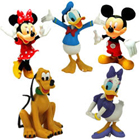 Smarty Selection of Mickey Mouse Clubhouse Figurines for Children