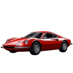 Sensual Velocity Ferrari Model Car from Bburago