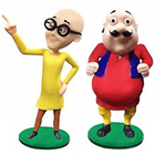 Comical Delight Motu Patlu Twosome