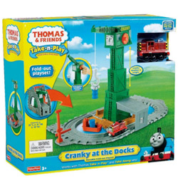 Extravagant Fisher-Price Thomas the Train Take-n-Play Set