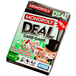 Fun-loving Monopoly Deal Card Game