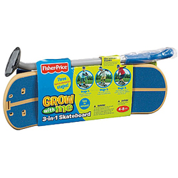 Stylish Play Set of 3 in 1 Skate Board from Fisher Price for Babies