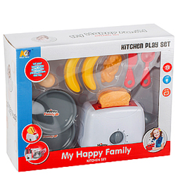Pretty Gift Pack of My Happy Family Toaster for Young Ones