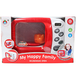 Fancy Kid's Microwave Oven Play Set from the House of My Happy Family