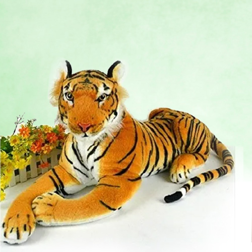 Furry Tiger Soft Toy