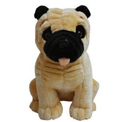 Cutie Pug Soft Toy
