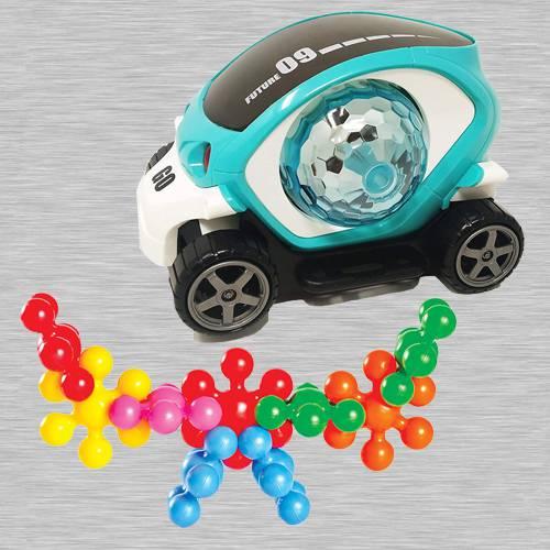 Amazing 360 Degree Rotating Stunt Car N Funskool Kiddy Star Links