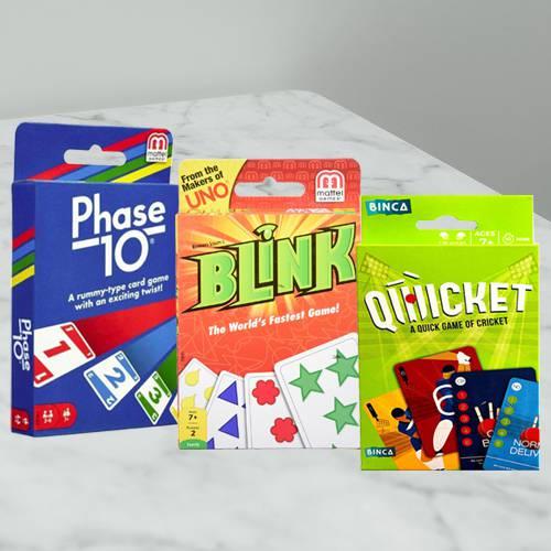 Marvelous Card Games Set for Kids