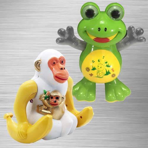 Amazing Dancing Frog N Webby Funny Orangutan