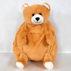 Stylish Teddy Shaped Soft Toy School Bag for Kids