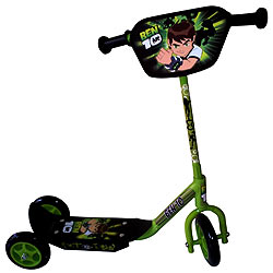 Deliver Ben 10 Tri-Scooter