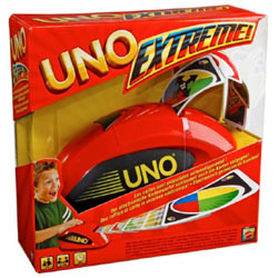 Exciting UNO Extreme Re-launch from Mattel